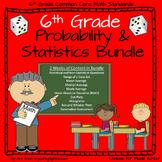 6th Grade Math -Probability and Statistics Bundle