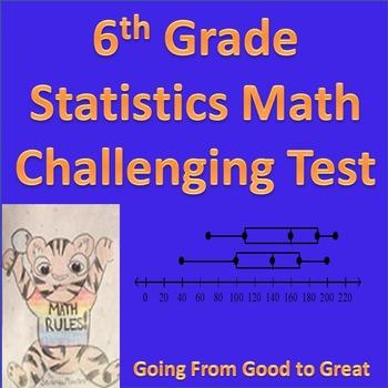 6th Grade Statistics Challenging Test