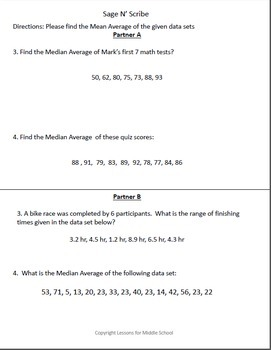 Grade probability and statistics median average of a data set 6th grade probability and statistics median average of a data set ccuart Gallery