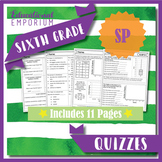 6th Grade Statistics & Probability Quizzes: Statistics & Probability, 6th Grade