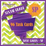 6th Grade Statistics & Probability Task Cards: Statistics & Prob, 6th Grade Math