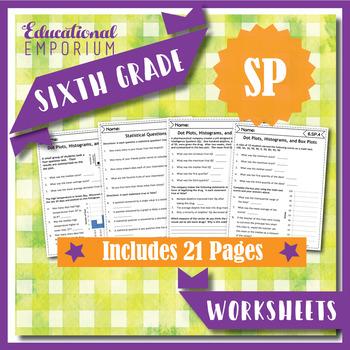 6th Grade Statistics & Probability Worksheets: Statistics & Prob, 6th Grade Math