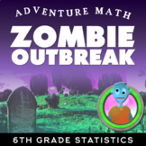 6th Grade Statistics Project: Analyzing Zombie Virus with Dot Plots and Mean