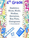 6th Grade Statistics Quick Check