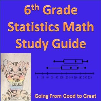 6th Grade Statistics Study Guide