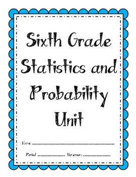 6th Grade Statistics Unit (Bundle)