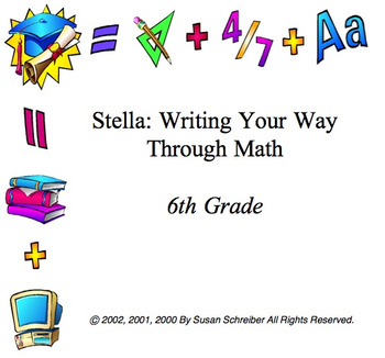 6th Grade Stella Curriculum Package