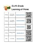 6th Grade Summer Learning Activities