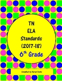 6th Grade TN ELA Standards (2017-18)
