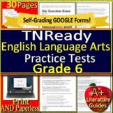 6th Grade TNReady Test Prep Practice Tennessee State ELA TCAP