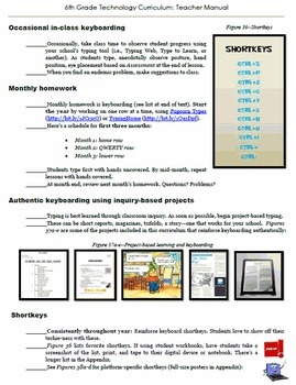 6th Grade Technology: 32-Lesson Comprehensive Curriculum