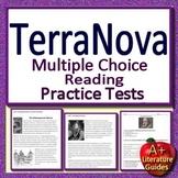 6th Grade TerraNova Test Prep Practice for Reading ELA