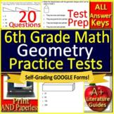 6th Grade Math Test Prep: Geometry - Standardized Testing Practice Google Ready