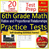 6th Grade Math Unit 1: Ratios and Proportional Relationships - Grade 6 Test Prep