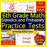 6th Grade Math Test Prep: Statistics and Probability - Standardized Testing