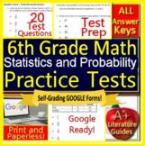 6th Grade Math Unit 5: Statistics and Probability - Grade 6 Test Prep