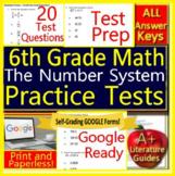6th Grade Math Unit 2: The Number System - Grade 6  Test Prep Standardized