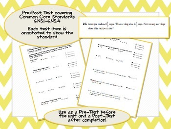6th Grade The Number System (6.NS.1 - 6.NS.4) Common Core Test