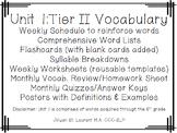 6th Grade Tier 2 Vocabulary