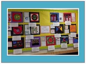 6th Grade Visual Arts Project-Self-Logo-Overview of Graphic Design