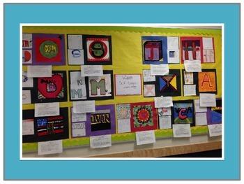 6th Grade Visual Arts Project-Self-Logo-Overview of Graphic Design