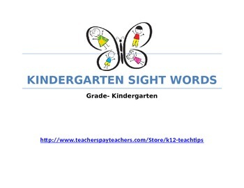6th Grade Vocabulary (>700) Sight Words-TPT