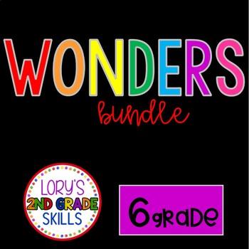 6th Grade WONDER BUNDLE