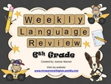 6th Grade Weekly Language Review