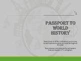6th Grade World History Passport Book