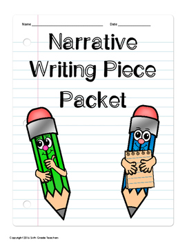 6th Grade Writing Packets