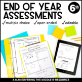 6th Grade Math Year-End Assessments: CCSS