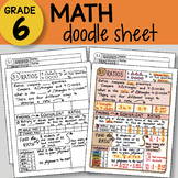 Doodle Notes - Ratios - So EASY to Use! PPT included
