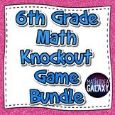 6th Math Knockout Digital Game Bundle