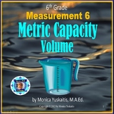 6th Grade Measurement 6 - Metric Capacity or Volume Powerp