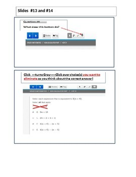 6th CC Math Training for PARCC Online Tests