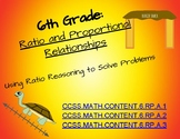 6th: Ratios&Proportions Activities
