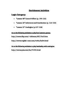6th TCAP Review -Enrichment Packet