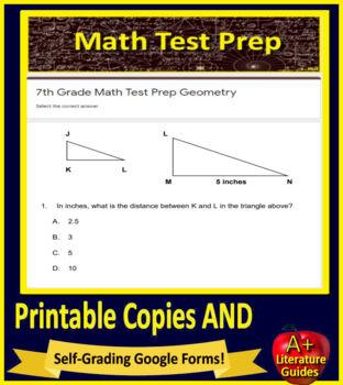 6th and 7th Grade Math BUNDLE! PARCC math Smarter Balanced Math CAASPP