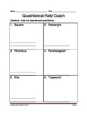 6th and 7th Grade Quadrilateral Rally Coach