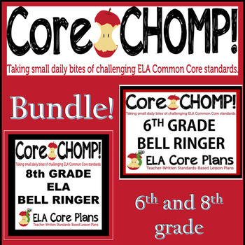 6th and 8th Grade Core Chomp Bundle