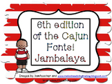 6th edition of the Cajun Font-Jambalaya