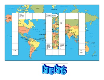 6th grade CRCT Geography Board Game Review