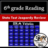 6th grade ELA state test review Jeopardy Style
