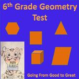 6th grade Geometry Math Test