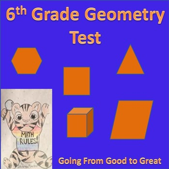 6th grade Geometry Math Test