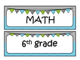 6th grade MATH Common Core I can statements