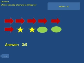 6th grade Math Exam Common Core Review Game NS1-4 RP1-3