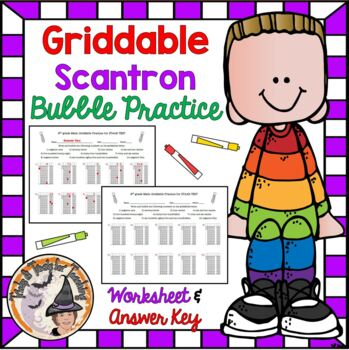 Math Griddable Practice Worksheets & Teaching Resources | TpT