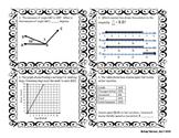 6th grade Math STAAR Review 6x6 Bingo Category 2