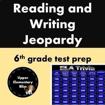 6th grade READING state test prep BUNDLE